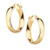 Yellow gold-plated \ 19 mm