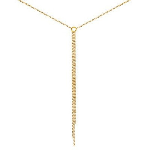 Minimal gold necklace 925 gold-plated