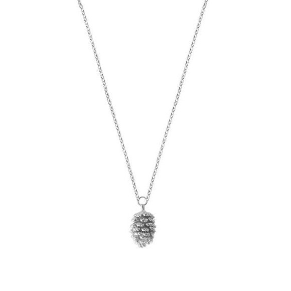 Pinecone necklace 925